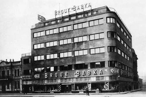 Obchodní domy Moravské Ostravy